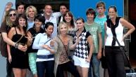 Schülergruppe mit Frau Rademacher