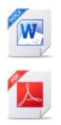 Icons word pdf