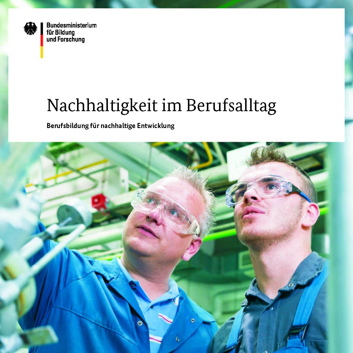 Titel Broschüre Nachhaltigkeit